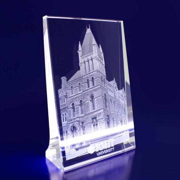 crystal plaque 2d