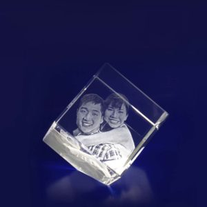 3d crystal photo diamond 40mm
