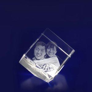 3d crystal photo diamond 40mm