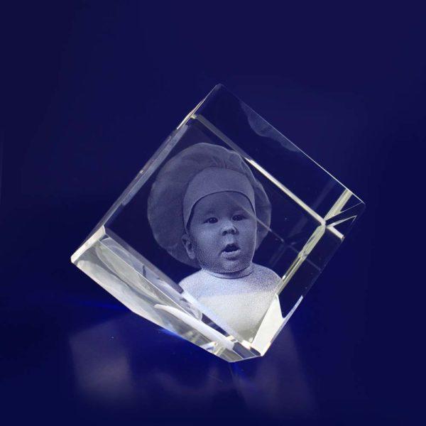 3d crystal photo diamond 50mm
