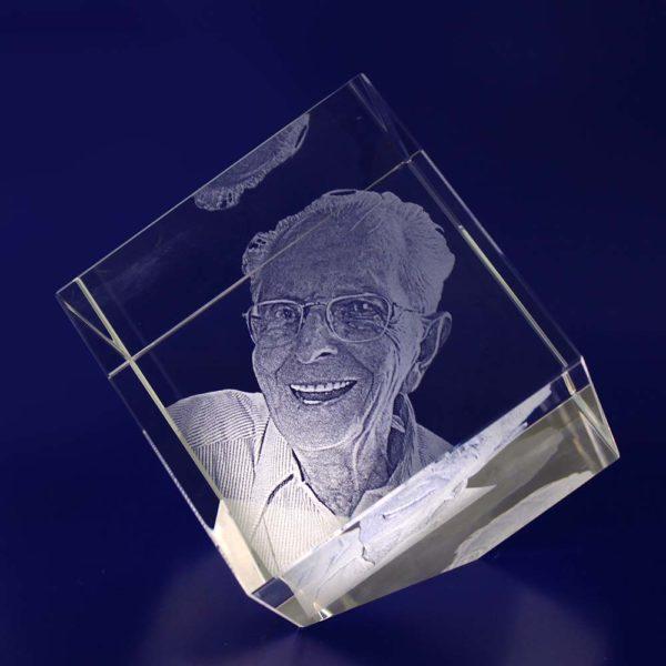 laser photo crystal diamond 80mm 2d