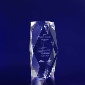 3d crystal award special bevel 150mm