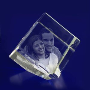 3d crystal photo diamond 60mm
