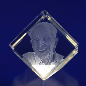 laser photo crystal diamond 60mm 2d