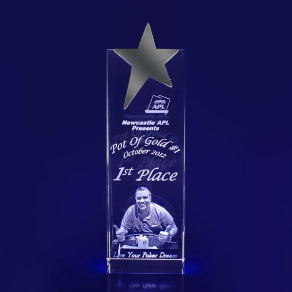 crystal star trophy