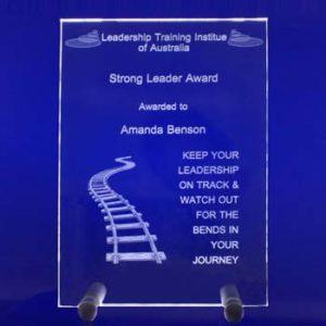 glass plaque A4