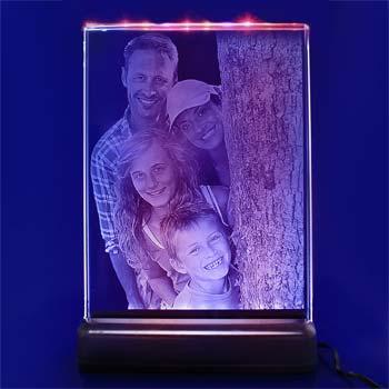 crystal photo glass studio coloured 2d
