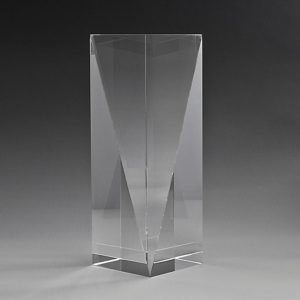 Crystal award - Pentacle Peak