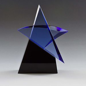 Blue Star Crystal