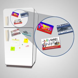 fridge magnets personalised full colour business